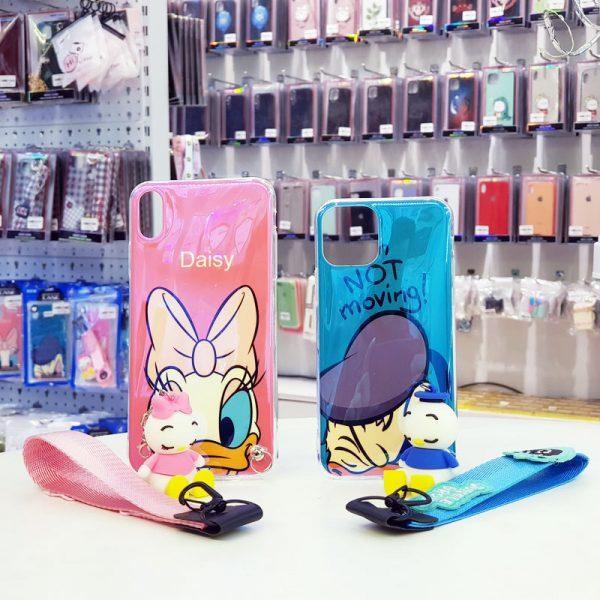 Ốp lưng điện thoại đôi vịt Donald và Daisy