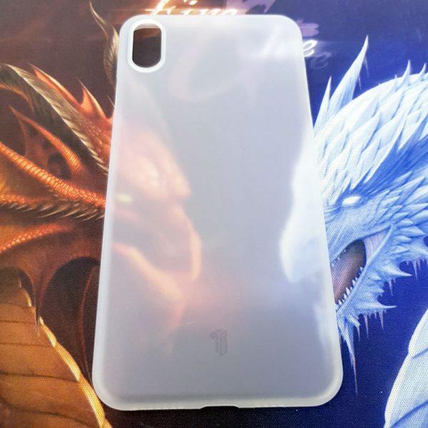 Ốp lưng điện thoại X-level siêu mỏng trắng mờ5