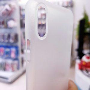 Ốp lưng điện thoại X-level siêu mỏng trắng mờ2