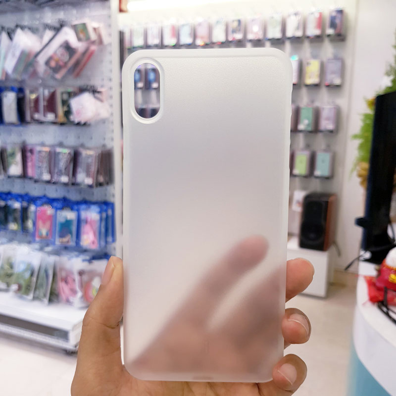 Ốp lưng iPhone X siêu mỏng