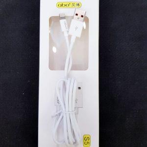 Cáp sạc iphone chính hãng Abo-S5-3