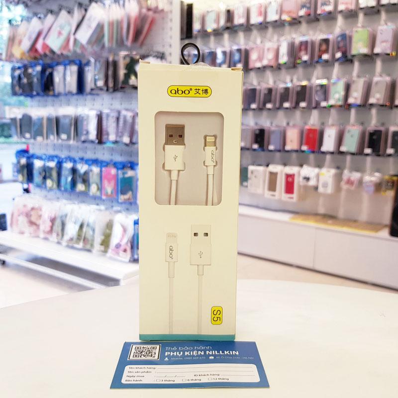 Cáp sạc iphone chính hãng Abo-S5-1