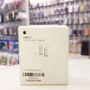 Củ sạc nhanh iPhone 18W USB C-5