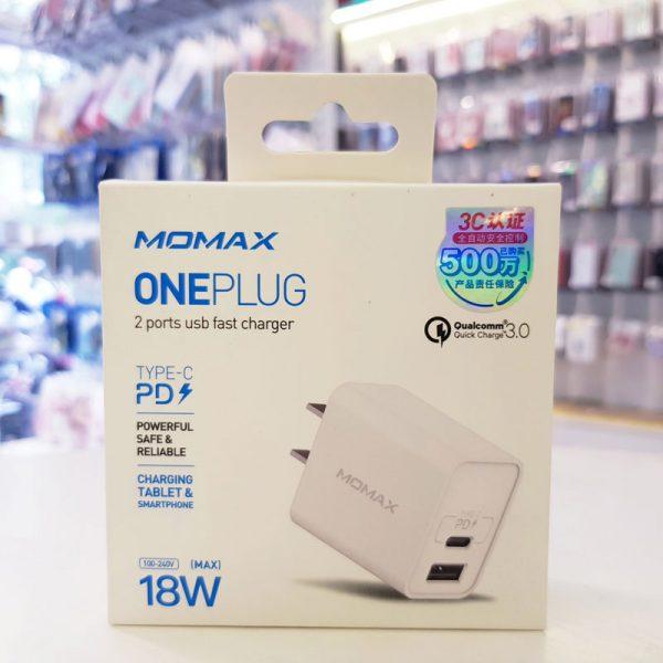 Củ sạc nhanh Momax PD+QC 3.0-7