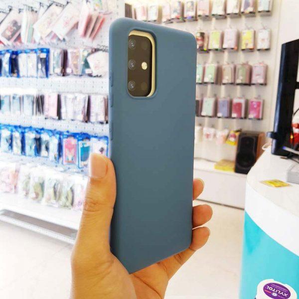 Ốp lưng điện thoại S20 Plus chống bẩn J-Case xanh dương-3