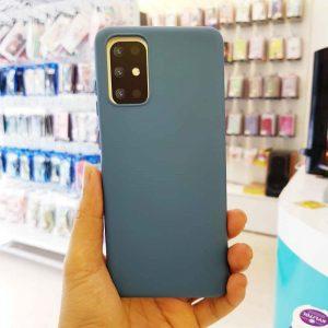 Ốp lưng điện thoại S20 Plus chống bẩn J-Case xanh dương-2