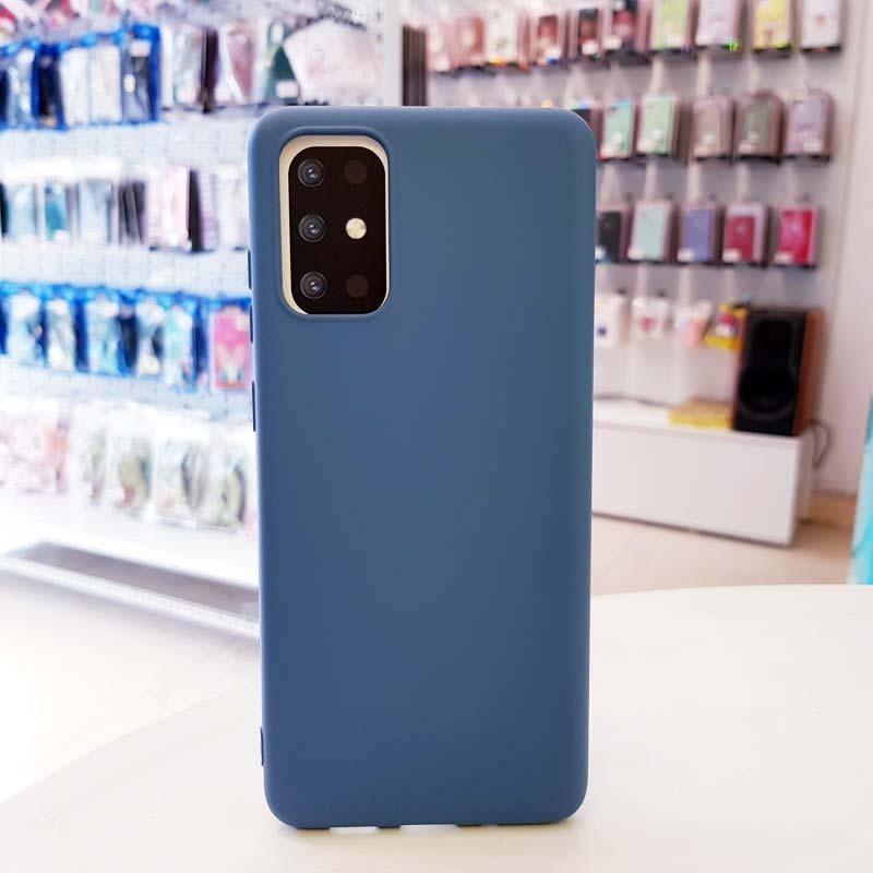 Ốp lưng điện thoại S20 Plus chống bẩn J-Case xanh dương-1