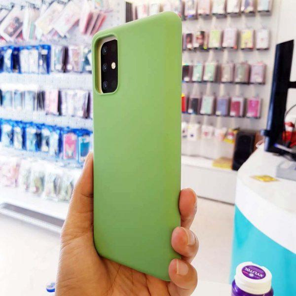 Ốp lưng điện thoại S20 Plus chống bẩn J-Case xanh cốm-3