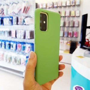 Ốp lưng điện thoại S20 Plus chống bẩn J-Case xanh cốm-2