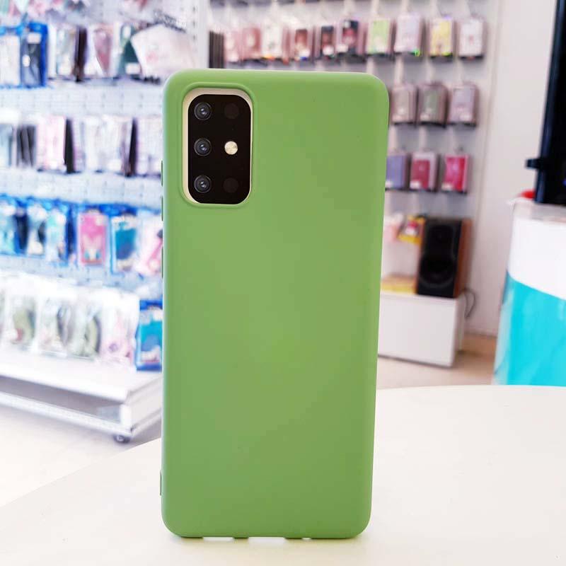 Ốp lưng điện thoại S20 Plus chống bẩn J-Case xanh cốm