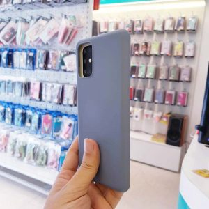 Ốp lưng điện thoại S20 Plus chống bẩn J-Case xanh da trời-2