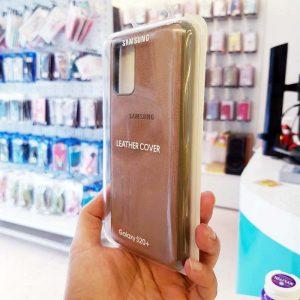 Ốp lưng điện thoại Samsung S20 Ultra bằng da nâu-3