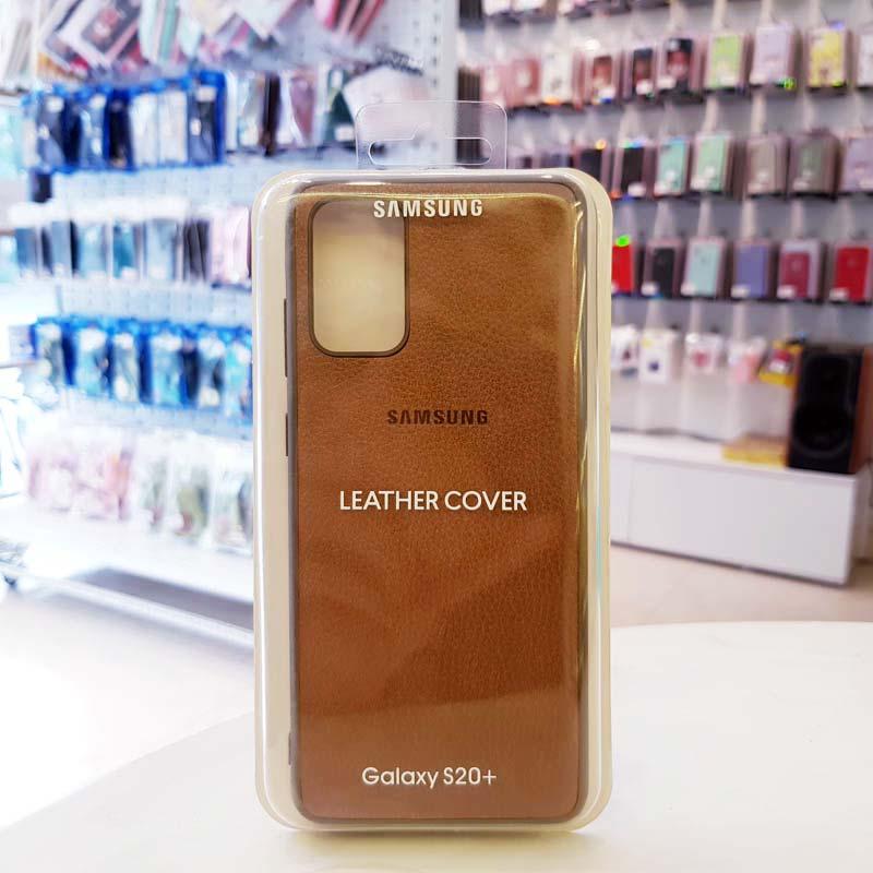 Ốp lưng điện thoại Samsung S20 Ultra bằng da nâu
