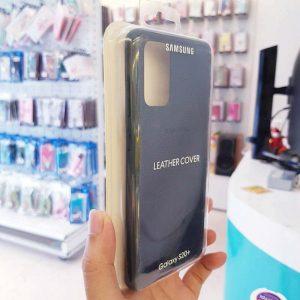 Ốp lưng điện thoại Samsung S20 Ultra bằng da xanh-3