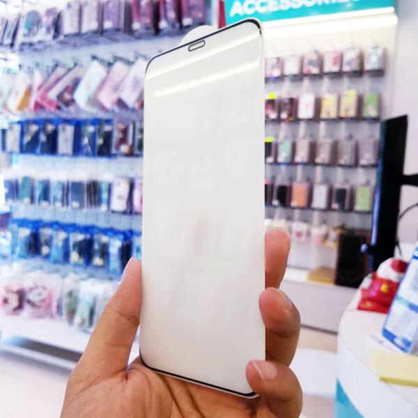 Kính cường lực iPhone Xs Max, 11 Pro Max không viền full màn-3